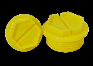 tappi filettati in plastica protezioni filettate