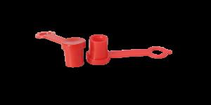 Protezione rossa per ingrassatori con e senza alette