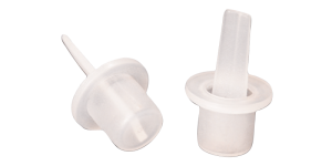 Tappi cilindrici con linguetta d'estrazione